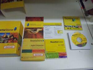 % Rosetta Stone Deutsch German Language Training Levels 1 - 5 Version 4