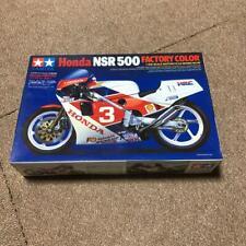 TAMIYA HONDA NSR 500 FACTORY COLOR 1/12 MOTORCYCLE SERIES NO.99 Vintage #11376
