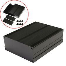 120x97x40mm Split Body Black Aluminum Box Enclosure Case Electronic DIY Project
