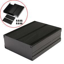 120x97x40mm Split Body Black Aluminum Box Enclosure Case Electronic DIY Project