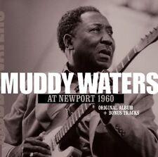 MUDDY WATERS - AT NEWPORT 1960+2   CD NEUF