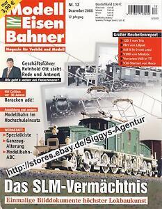 Modell Eisen Bahner 12/2008 Dezember 2008 Magazin für Vorbild und Modell