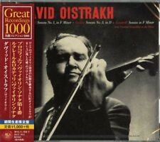 DAVID OISTRAKH-PROKOFIEV: VIOLIN SONATA NO. 1. LOCATELLI...-JAPAN CD Ltd/Ed B63