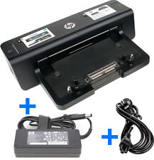 HP Dockingstation HSTNN-I11X + HP 90W Netzteil für EliteBook 8440p 8460p 8540p