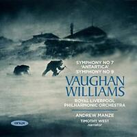 Vaughan Williams: Symphonies Nos.7 & 9 - Royal Liverpool Philharmonic O (NEW CD)
