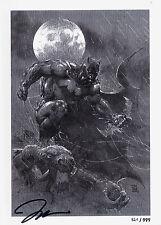 Jim Lee: iconas HC alemán sketch/art-book Limited + signed artprint icons Batman