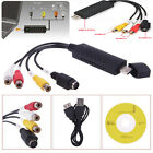 USB 2.0 Video Audio VHS to DVD Converter Capture Card Adapter for PC Win 7 XP
