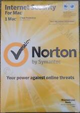 New Norton Internet Security 5 For 1 Mac Full Retail Version NIS 21201722