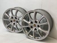 """PORSCHE 18"""" 911 GT3 GT2 FRONT RIM RIMS Factory OEM original 18  996.362.136.02"""