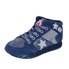 Mädchen schuhe LELLI KELLY 31 sneakers blau wildleder textil glitter BR334-31