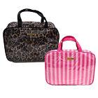Victoria's Secret Cosmetic Make Up Bag Hanging Toiletries Large Weekender Vs New