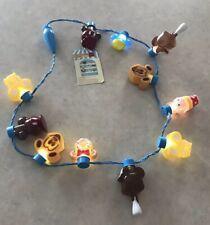 Disney Parks Food Glow Light Up Necklace Mickey Waffle Bar Donut Ice Cream NWT