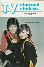 VINTAGE DONNY and MARIE OSMOND TV CHANNEL CHOICES COVER PHOTO 1970's