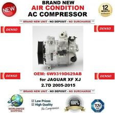 DENSO AIR CONDITIONING AC COMPRESSOR 6W9319D629AB for JAGUAR XF XJ 2.7D 2005-15