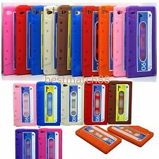 for iPod touch 4th 4 th 4 g itouch case cassette 10x whole sale bulk lot 8 color