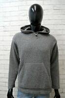 Maglione Playlife Uomo Pullover Lana Taglia XL Sweater Cardigan Grigio Man Felpa