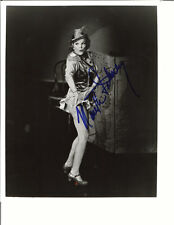 NANETTE FABRAY CHEER LEADER SIGNED PHOTO AUTOGRAPHED W/COA 8X10