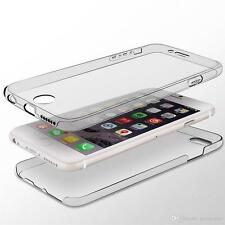 360 Shockproof Silicone Full Body cover Clear TPU Case For Samsung Galaxy S6Edge