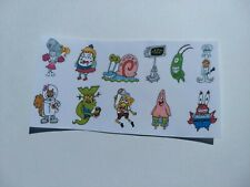 11 Spongebob Squarepants Nickelodeon 90s anime fantasy stickers kawaii cartoon