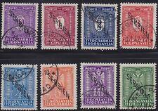 309.Serbia German OCC 1941 Porto Stamps USED mic1/8