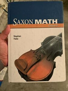 Saxon Math Course 3 Great for Homeschooling