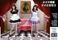 Masterbox 1:35 Nana And Momoko Maid Cafe Girls Figures Model Kit