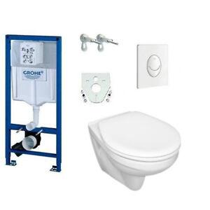 Grohe Rapid SL WC Set Vorwandelement Betätigungsplatte Wand-WC WC-Sitz UD-1