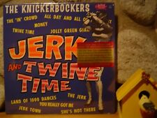 KNICKERBOCKERS Jerk And Twine Time LP/1966 US/Garage Rock/MONO MIX!/Kinks/NEW!