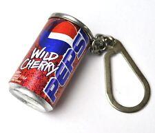 PEPSI COLA Wild cerise Mini Boîte Porte-clés Can clés chaîne USA 1998