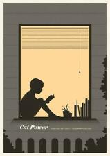 CAT POWER CONCERT POSTER LIMITED EDITION SCREEN PRINT BY SIMON MARCHNER