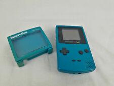 Nintendo Game Boy Color Limited Edition Ice Blau Handheld-Spielkonsole Türkis