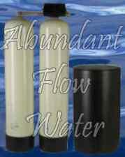 New Dual alternating valve 32k Fleck 9000 Brass Twin Tank Water Softener