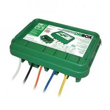 DRiBOX FL-1859-285G IP55 Medium Outdoor Weatherproof Electrical Box - Green