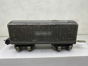 Lionel Pre War 2689W whistle tender- box rear coupler -See Pics Fast Shipping G3