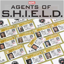 Marvel's Agents of SHIELD TV Show ID Badge, Phil Coulson, Nick Fury, AVENGERS