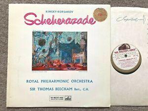 ASD 251 ED1 W/G - Rimsky-Korsakov Scheherazade - Beecham - RPO ..NM