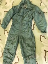 Us Air Force Cwu - 1/P Flying Coverall Vietnam War Pilot Flight Suit
