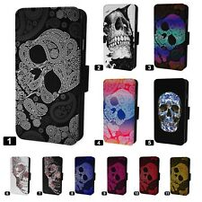 Aztec Skulls Designs Flip Phone Case Cover - Fits Iphone