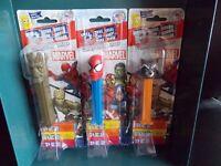 PEZ Lot of 3 Marvel Spider-Man Groot Rocket PEZ *NIP* FREE SHIPPING