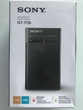 Sony ICF-P26 AM/FM Portable Radio