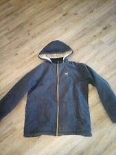 Boys Walls Sherpa Lined Black Duck Canvas Work Coat Sz XL 16/18.... Super! HTF!!