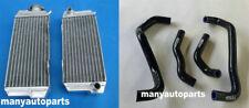 FOR Honda ATC250R/ATC 250 R 1985 1986 85 86 Aluminum radiator&hose Black