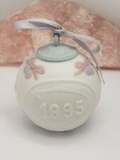 Vintage Lladro 1995 Porcelain Christmas Ornament