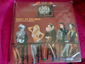 """Panic! At The Disco - A Fever You Can't Sweat Out Vinyl 12"""" Album Record"""