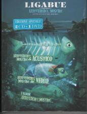 LIGABUE, Arrivederci mostro, box 2 CD + 1 dvd