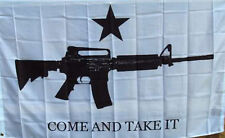 NEW 3ftx5ft COME AND TAKE IT 2ND AMENDMENT FLAG
