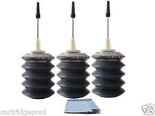 3x30ml Black refill ink for HP 701 Fax 2140 640 650