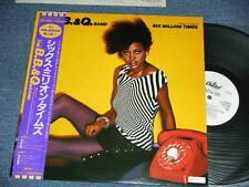 The B.B.& Q. BAND Japan 1983 WHITE LABEL PROMO NM LP+Obi SIX MILLION TIMES