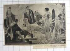 1935 Artwork By W Russell Flint, The Judgement Of Paris