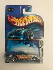 Autographed Tom EcEwen Hot Wheels NHRA Drag Racing Funny Car 1/64 Legend Signed